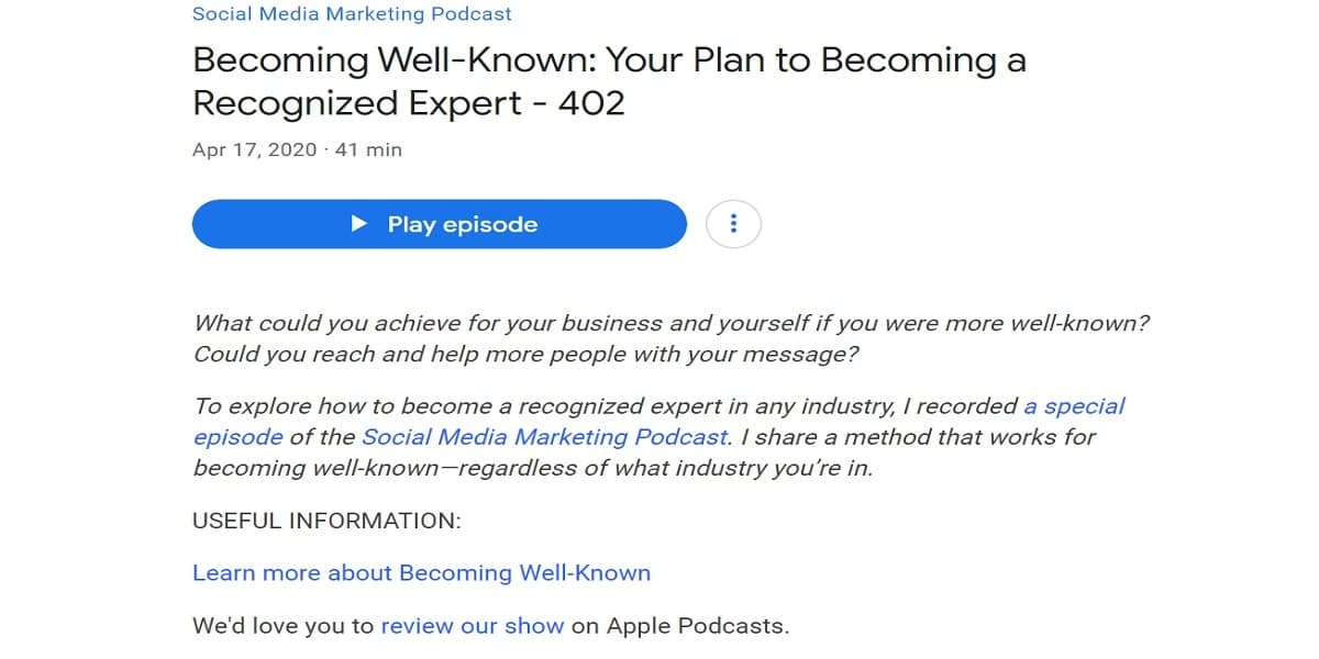 How To Get Your Podcast On Google Play Optimized Descriptions