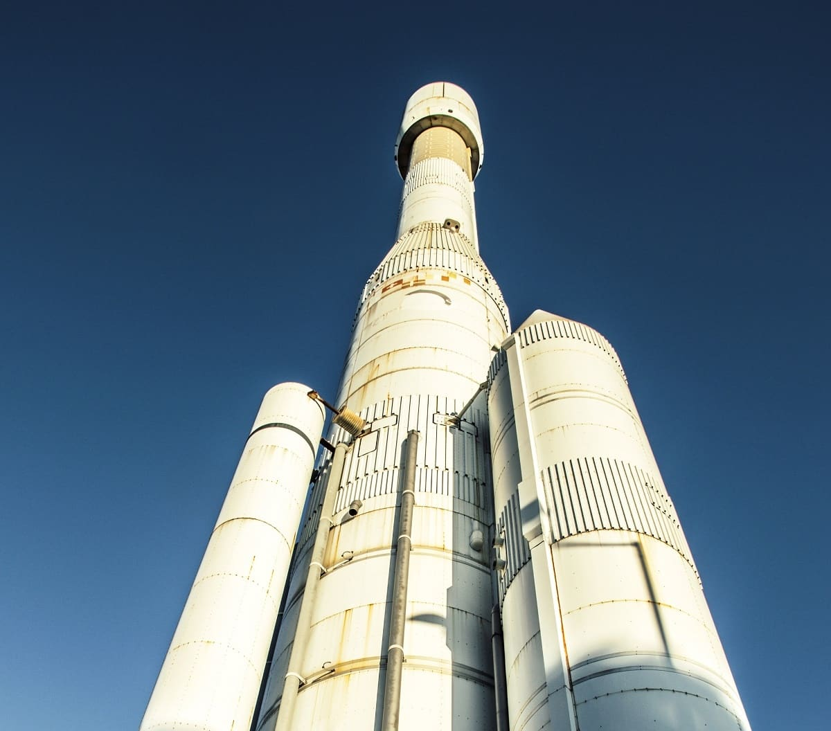 picture of space x rocket