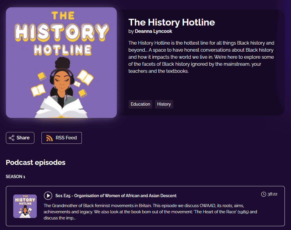 The History Hotline by Deanna Lyncook